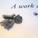 Papillon-cravatta fiore brevetto